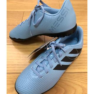 アディダス(adidas)のアディダス adidas トレシュー 新品  メッシモデル 21㎝(スニーカー)