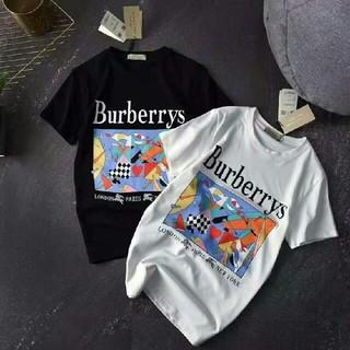 バーバリー(BURBERRY)のBurberry バーバリー Tシャツ メンズ ブラック カップル 男女 M (Tシャツ/カットソー(半袖/袖なし))