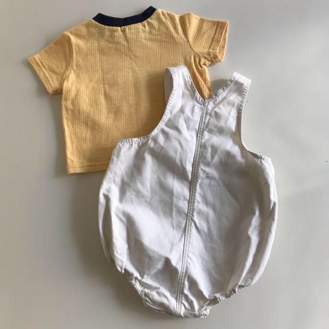 Bonpoint(ボンポワン)のBonpoint& Honey Pot 60 2枚セット キッズ/ベビー/マタニティのベビー服(~85cm)(ロンパース)の商品写真