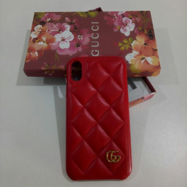 iphone8 薄型 手帳 ケース 、 Gucci - GUCCIグッチ   ケース  大人気 激売れ X/XSの通販 by かっすう's shop|グッチならラクマ