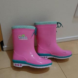 アサヒ(アサヒ)のサイズ19☆アサヒ☆ピンク長靴(長靴/レインシューズ)