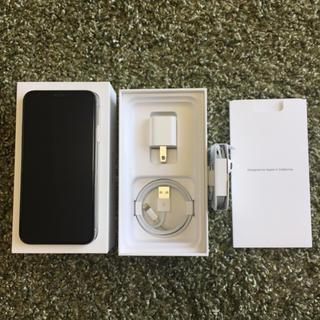 Apple - 美品 iPhone X 64GB Simフリー 付属品元箱付