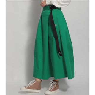 ニコアンド(niko and...)の新品タグ付き🎀ニコアンド×ディッキーズ スカート(ロングスカート)