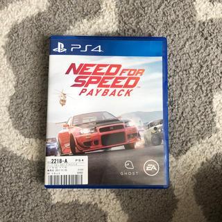 プレイステーション4(PlayStation4)のNeed for speed payback(家庭用ゲームソフト)