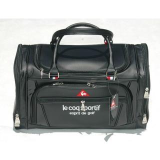 le coq sportif - ルコックゴルフボストンバッグ ブラック(QQBLJA01)