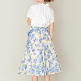 ジェーンマープル(JaneMarple)の JaneMarple  Water flower 2 face skirt(ロングスカート)