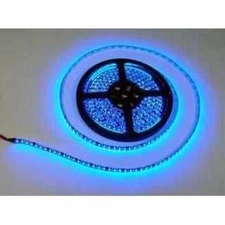 防水LEDテープ 黒ベース・ブルー 5m 正面発光 12V 600連SMD