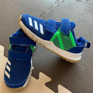 アディダス(adidas)のadidasアディダススニーカー18cm 数回使用(スニーカー)