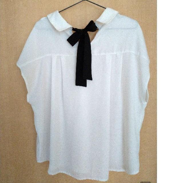 しまむら(シマムラ)のブラウス レディースのトップス(シャツ/ブラウス(半袖/袖なし))の商品写真