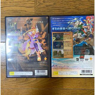 ソニー(SONY)の【処分品】PS2ソフト ワイルドアームズ3 、5  2本セット(家庭用ゲームソフト)