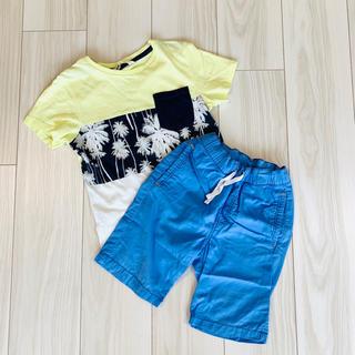 H&M - H&M エイチアンドエム Tシャツ ハーフパンツ セット