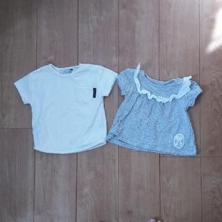 シマムラ(しまむら)の【美品】70女の子 Tシャツセット(Tシャツ)