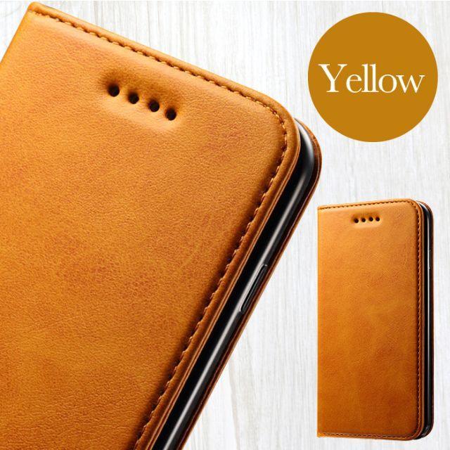 moschino iphonexs ケース 財布 、 PUレザー手帳型iPhone8/7ケース イエロー の通販 by TKストアー |ラクマ