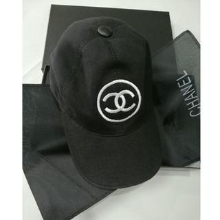 シャネル(CHANEL)の Chanel  シャネル  帽子 キャップ ブラック (キャップ)