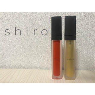shiro - 【shiro】(オンライン限定)ミントジンジャーリップバター  2種