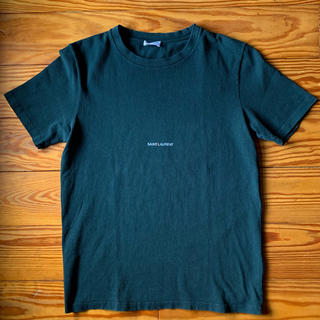 Saint Laurent - レアカラー SAINTLAURENTPARIS サンローラン ロゴTシャツ 新品