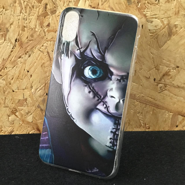 iphone8 iphone7 ケース 、 iPhone XR スリム ソフトケース・チャッキー 新品の通販 by onemc's shop|ラクマ