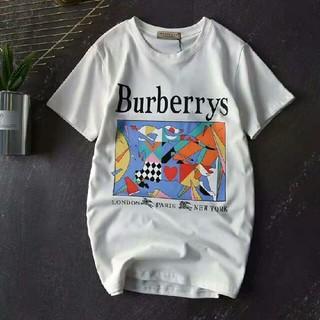 バーバリー(BURBERRY)のBurberry バーバリー ホワイト Tシャツ L (Tシャツ/カットソー(半袖/袖なし))