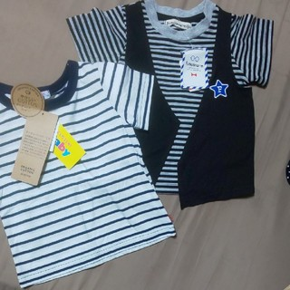シマムラ(しまむら)の新品未使用★しまむら★男の子二枚セット80(Tシャツ/カットソー)