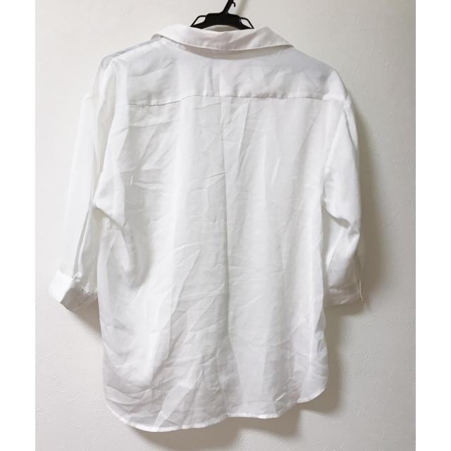 ByeBye(バイバイ)の新品♡白シャツ♡カッターシャツ♡カットソー レディースのトップス(シャツ/ブラウス(長袖/七分))の商品写真