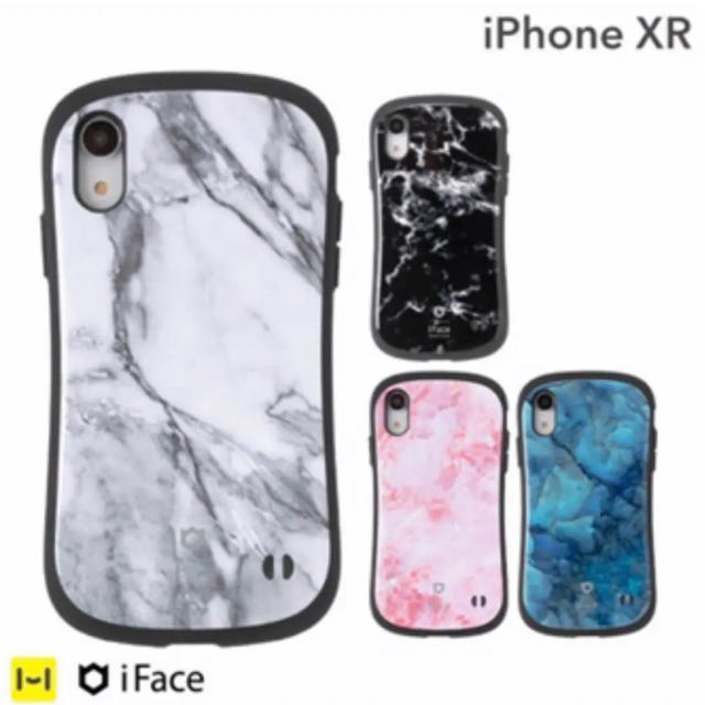 iphone xr ケース アイフォンxr iface アイフェイス マーブルの通販 by Lily|ラクマ