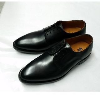(26.5cm)ロンドンシューメイク 外羽根 本革靴 プレーントゥ 302(ドレス/ビジネス)