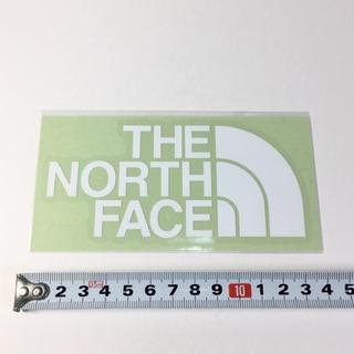 ザノースフェイス(THE NORTH FACE)のノースフェイス ステッカー :カッティング 白(その他)