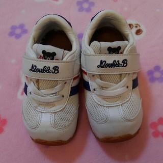 DOUBLE.B - ダブルB セカンドシューズ スニーカー 靴 14.5cm ミキハウス