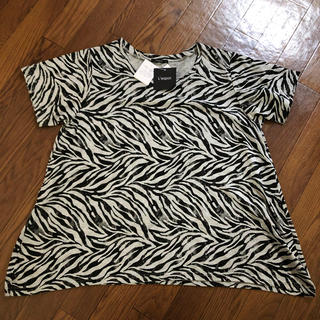 シマムラ(しまむら)のしまむら ゼブラTシャツ 3L(Tシャツ(半袖/袖なし))