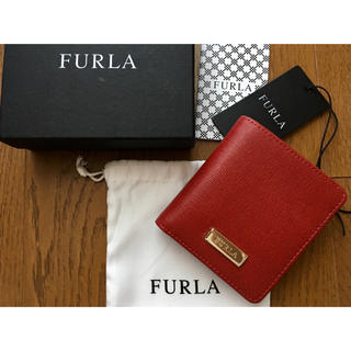 9e13a5780c9c Furla - ※値下げ※ FURLA フルラ 二つ折り財布 バビロン ネイビーの通販 ...