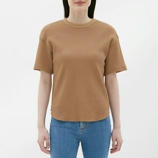 ジーユー(GU)のジーユーワッフルT 新品未使用(Tシャツ(半袖/袖なし))