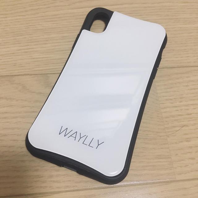 iphoneケース 人気ブランド 、 WAYLLY スモールロゴ ホワイト の通販 by nimo's shop|ラクマ