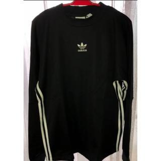 アディダス(adidas)のストライプ ジャージー [AUTH STRIPE JERSEY] アディダス(Tシャツ/カットソー(七分/長袖))