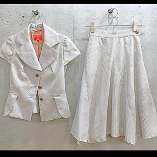 ヴィヴィアンウエストウッド(Vivienne Westwood)の美品 ヴィヴィアンウエストウッドレッドレーベル セットアップ スーツ(スーツ)