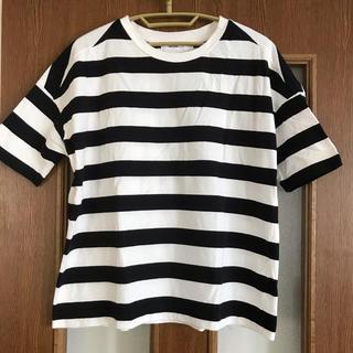 ニコアンド(niko and...)のニコアンド  ボーダー Tシャツ(Tシャツ(半袖/袖なし))