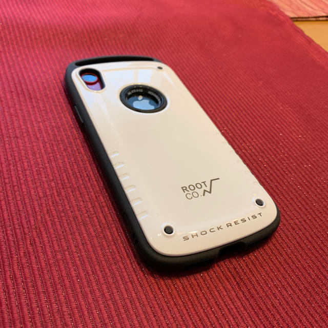 ROOT.CO iPhone XR ケース  白の通販 by みさみさ|ラクマ