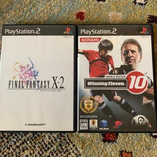 プレイステーション2(PlayStation2)のプレステ2 2枚セット(家庭用ゲームソフト)
