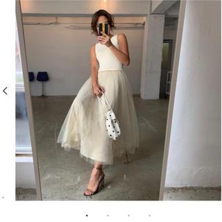 ZARA - 完売!新品バースデーバッシュbirthdaybashオーガンジータンクドレス