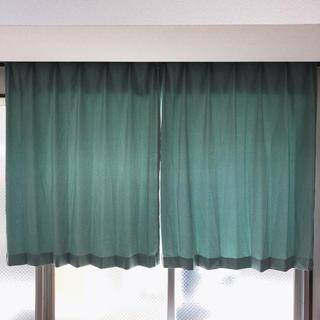 ニトリ - ニトリ カーテン 花粉キャッチCキュアグリーン 100×140