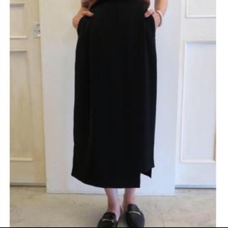 エンフォルド(ENFOLD)のENFOLD  スカートパンツ  ブラック(その他)