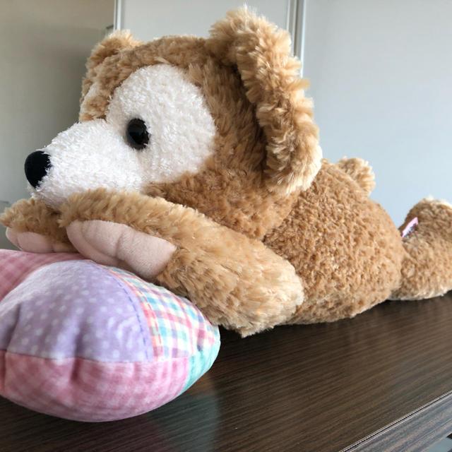 ダッフィー(ダッフィー)のダッフィー  抱き枕 エンタメ/ホビーのおもちゃ/ぬいぐるみ(ぬいぐるみ)の商品写真
