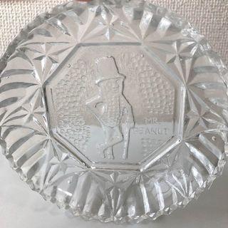 ミスターピーナッツ ガラス皿 / 灰皿 ビンテージ品
