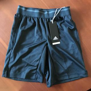 アディダス(adidas)の新品 ★ アディダス ボーイズ ハーフパンツ 130 ブラック(パンツ/スパッツ)