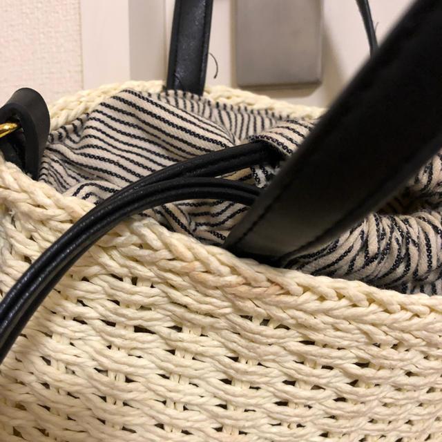 しまむら(シマムラ)のしまむら カゴバッグ 2way レディースのバッグ(かごバッグ/ストローバッグ)の商品写真