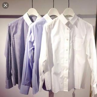 サカイラック(sacai luck)のサカイラック プリーツシャツ(ストライプ)1(シャツ/ブラウス(長袖/七分))