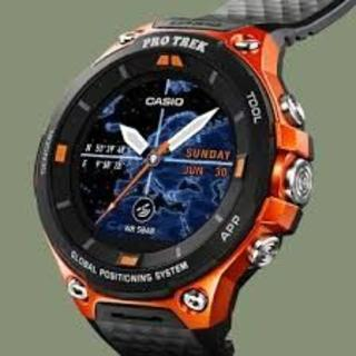 CASIO - スマートアウトドアウォッチ プロトレックスマート GPS 搭載 WSD-F20-