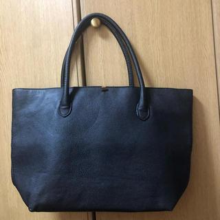 エイチアンドエム(H&M)のH&M★ トートバッグ 黒(トートバッグ)