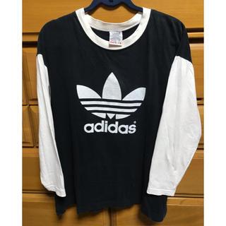 アディダス(adidas)のadidas アディダスオリジナルス 90s ロンT(Tシャツ/カットソー(半袖/袖なし))