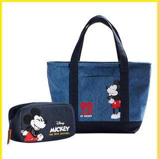 ジャル(ニホンコウクウ)(JAL(日本航空))の【新品】ミッキー90周年 トートバック JAL 機内販売(トートバッグ)