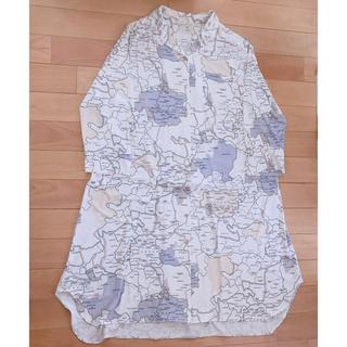 gelato pique - ジェラピケ MAPシャツドレス
